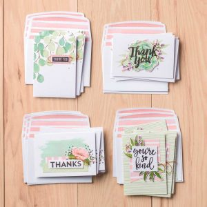 Item 148266 $35.00 Notes of Kindness Card Kit Stampin' Up! Mary Anne Grimmer mastampstudio.net kits
